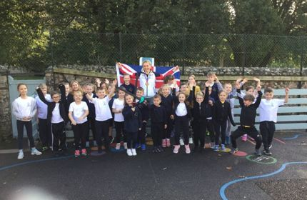 A visit from Zoe Davison - Junior World Competitor for Great Britain
